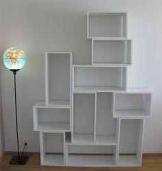 DIY Modern And Practical Shelf System   Shelterness