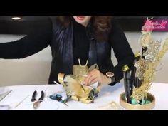 Detalle Navideño en Taza de Barro - YouTube