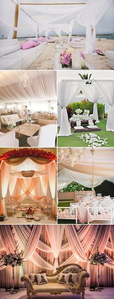 32 Romantic Drapery Decor Ideas to Stun Your Guests - Lounge Decor