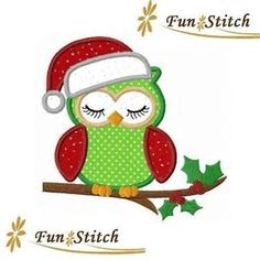 Image result for christmas owl