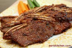 Beef Galbi http://aeriskitchen.com/2009/01/beef-galbi-%EC%86%8C%EA%B0%88%EB%B9%84sogalbi/