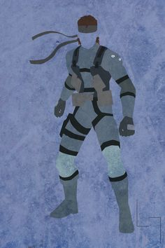 Solid Snake by ~Jehuty23 on deviantART (Metal Gear Solid)