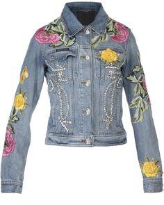 Philipp Plein Floral Patch Denim Jacket