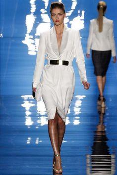 Jennifer Lopez wearing Reem Acra Spring 2013 Dress.