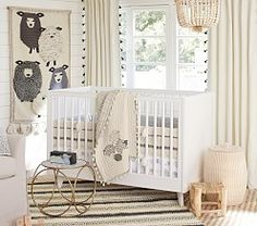 Organic Sleepy Sheep Nursery Bedding Set