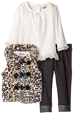 Little Lass Baby Girls' 3 Piece Fur Vest Set Cheetah Togg... https://www.amazon.com/dp/B00WUA297K/ref=cm_sw_r_pi_dp_YGQAxbJW0BFNM