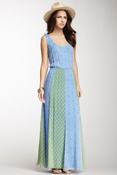 Ella Moss Sleeveless Silk Maxi Dress on HauteLook