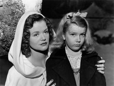 """Creepy Classics """"Curse of the Cat People""""  Wonderful ghost story."""