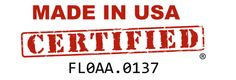 Our Cardboard Boxes are #MadeInUSA Certified! FL0AA.0137