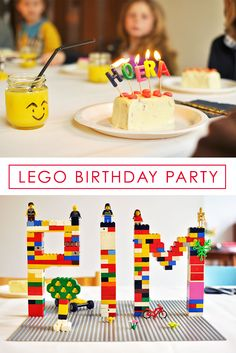 Super cool birthday idea, find lots of inspiration for a Lego Party!