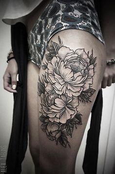 tattoos flowers tumblr - Buscar con Google