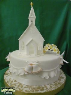 tortas biblias de comunion - Buscar con Google First Communion Cakes, First Holy Communion, Confirmation Cakes, Baptism Cakes, Biscuits, Sugar Craft, Royal Icing, Party Cakes, Let Them Eat Cake