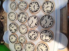 Around the clock shower cookies :)
