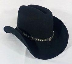 16c5b3faf1b NEW JACK DANIEL S 100% Wool Crushable Water Rep Western Cowboy Hat JD03-F  USA