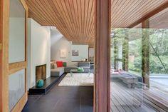 Gunter Buccholz designed this home in Chestnut Hill in 1967.