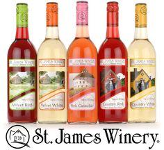 St. James Winery has some fabulous fruit wines! / St. James, Missouri