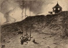 Original War Of The World Drawings Expected To Fetch Huge Sum At Auction