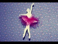 Lembrancinha da bailarina passo a passo - YouTube