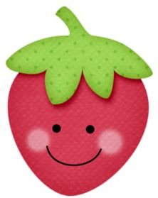 """Photo from album """"[Strawberry Kisses]"""" on Yandex. Strawberry Clipart, Fruit Clipart, Strawberry Shortcake Party, Puppet Crafts, Doodle Art Journals, Fruit Party, Trunk Or Treat, Kawaii Drawings, Cookie Designs"""
