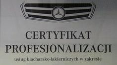 Certyfikat Profesjonalizacji - ul Orzechowa 13