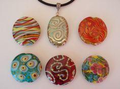 Big Pendant Beads by Maureen Nugent.  www.beadoire.com