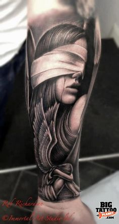 Rob Richardson - Realism Tattoo | Big Tattoo Planet