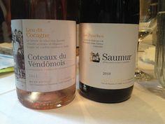 Two summer #wine bargains. #loirevalley #loire #cabernetfranc