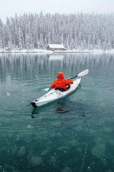 """Lake Louise, Banff National Park, AB by Stevin Tuchiwsky "" Kayak Camping, Canoe And Kayak, Outdoor Camping, Sea Kayak, Camping Hammock, Canoe Trip, Outdoor Gear, Banff National Park Canada, National Parks"