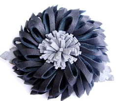 How to make Leather Flower