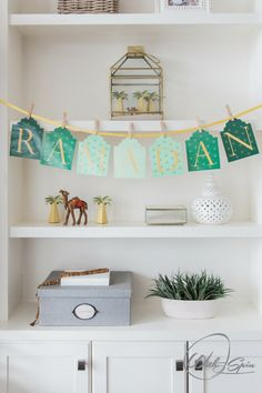 Ramadan Decoration. Welcome Ramadan in your home and in your heart by decorating the house