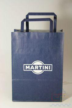 Bolsas de Papel Impresas Martini