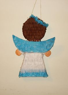 pinata de angel Baby E, Baptisms, Communion, David, Party Ideas, Baby Shower, Etsy, Disney, Painting