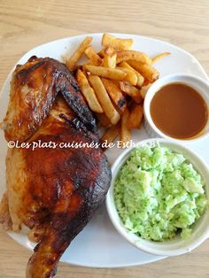 The cooked dishes of Esther B: Chicken barbecue of Jean-Fran .- The cooked dishes of Esther B: Barbecue chicken of Jean-François Plante - Sauce Barbecue, Barbecue Chicken, Bbq Corn, Bbq Outfits, Bbq Ribs, Food Preparation, Meat Recipes, Esther, Meals