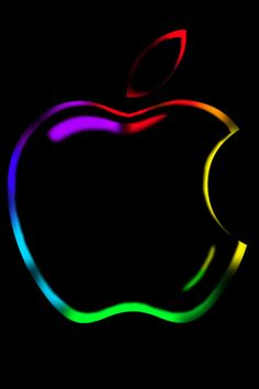 fond d& iPhone Apple Outline - Luminia Apple Logo Wallpaper Iphone, Iphone Wallpaper Video, Iphone Logo, Abstract Iphone Wallpaper, Iphone Wallpapers, Love Wallpaper, Cellphone Wallpaper, Apple Outline, Apple Background