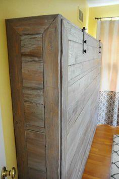 DIY Murphy beds-5  Giường Murphy mang không gian tiết kiệm cho căn phòng của nhà bạn.
