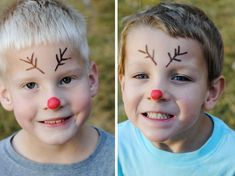 Sven Inspired Reindeer Games for Frozen Fun - Rentier basteln Christmas Fair Ideas, Christmas Activities, Simple Christmas, Kids Christmas, Face Painting Designs, Painting Patterns, Reindeer Face Paint, Frozen Face Paint, Tinta Facial
