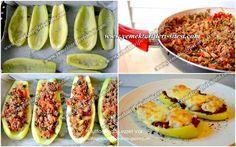 Kabak Sandal Tarifi - World Food & Recipes Greek Cooking, Cooking Time, Cooking Recipes, Turkish Recipes, Italian Recipes, Ethnic Recipes, Oven Dishes, Fish And Meat, Fresh Fruits And Vegetables