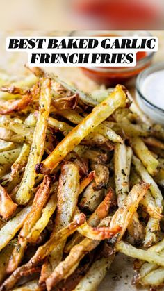 Best Potato Recipes, Spicy Recipes, Indian Food Recipes, Cooking Recipes, Yummy Recipes, Vegetarian Side Dishes, Vegetarian Snacks, Garlic French Fries, Baked Garlic