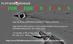 PLEASE SHARE THIS - 2 for 1 offer from flyfishbonehead. Saltwater fly tying videos