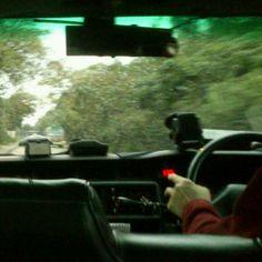 Dec 12 雨中趕路上班去