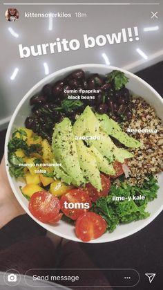 Holen Sie sich die SKINNY: Die 6 Gebote von Going Quick & Clean - Comidas fáciles - Las recetas más prácticas y fáciles Healthy Meal Prep, Healthy Snacks, Healthy Eating, Vegan Lunches, Whole Food Recipes, Cooking Recipes, Vegetarian Recipes, Healthy Recipes, Food Inspiration