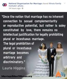 NOM Posts Hate Group's Meme Comparing Same-Sex Marriage To Incest | The New Civil Rights Movement