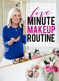 Daily Make-up Routine. Everyday Beauty Routine, Everyday Makeup Routine, Beauty Routines, Daily Make Up, Daily 5, Make Up Gesicht, Coconut Oil Beauty, Happy Skin, Skin Care Remedies