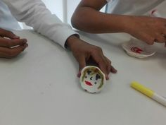 Model magic bowls #ArtClass