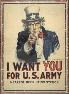 Los mejores carteles de propaganda de la Primera Guerra Mundial | OLDSKULL                                                                                                                                                                                 Más