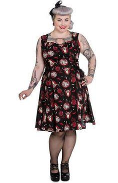 Aiyana Lace Dress ~ Hell Bunny