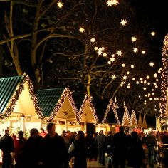 Christmas market - gutted that I missed it on the recent trip