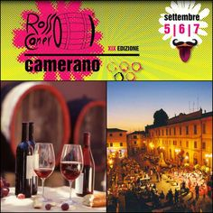 Every year, early in September, #Camerano celebrates its own #RossoConero production with a three-day festival of music, dance, #wine and food tasting. Don't miss the event this weekend September 5-7! See you in Le #Marche!