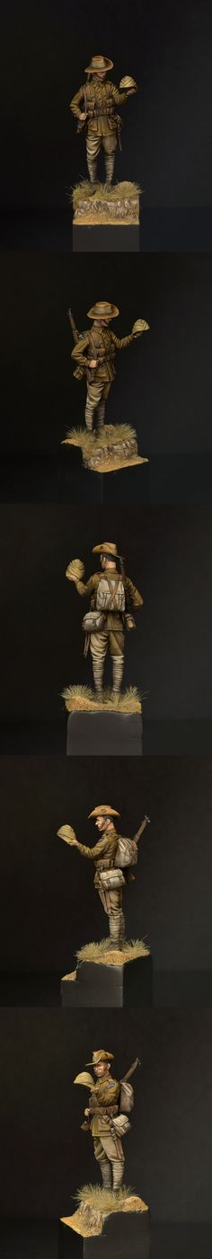 Private of the 11th Bn Australian Imperial Force | planetFigure | Miniatures