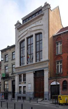 Schaerbeek - Ancien Groupe scolaire Josaphat - Rue Josaphat 215, 229, 241 - Rue de la Ruche 30 - JACOBS Henri